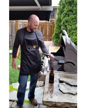 Pico Charlie Cole BBQ KING - Apron (Black)