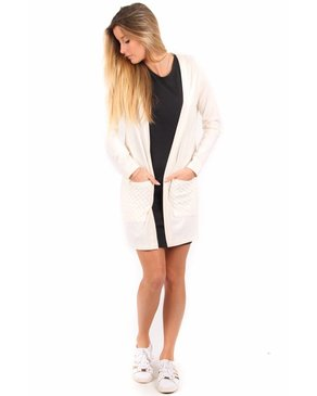 Louve Design Long Cardigan - Bamboo
