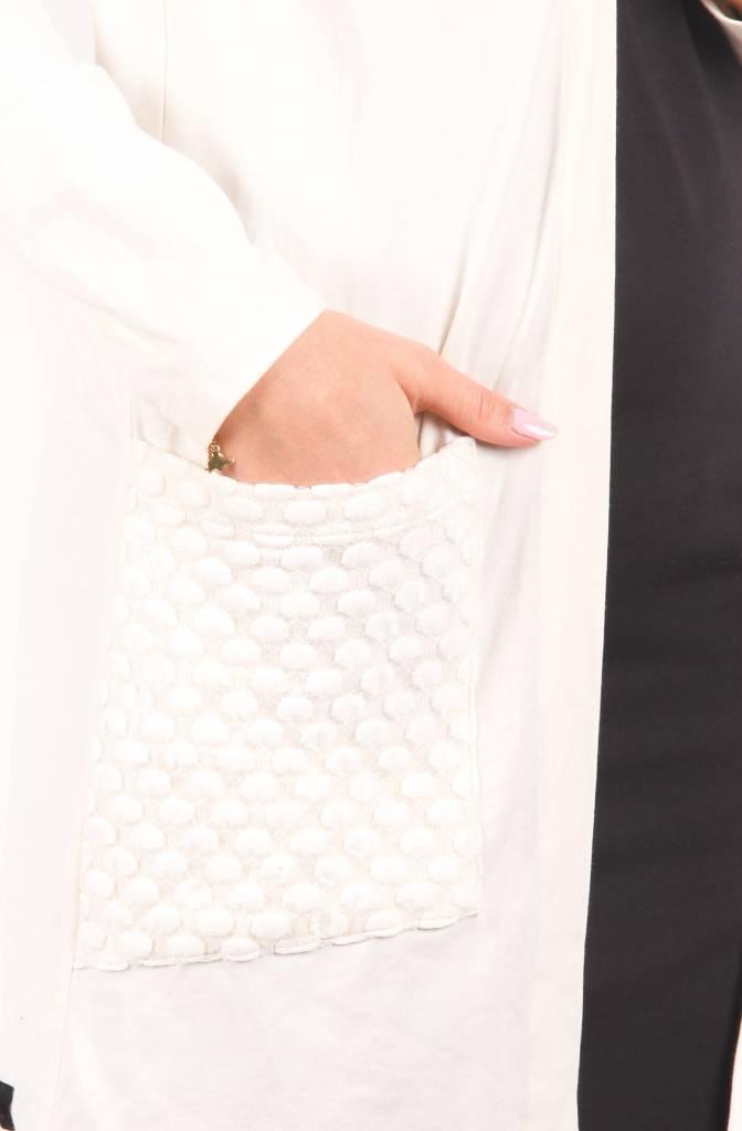 Louve Design Long Cardigan - Bamboo