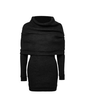 Melow par Mélissa Bolduc URSULE - Sweater with Folded Shoulder Cape