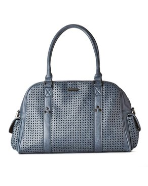 jeane & jax Perforated Weekender / Work Bag (Twilight)
