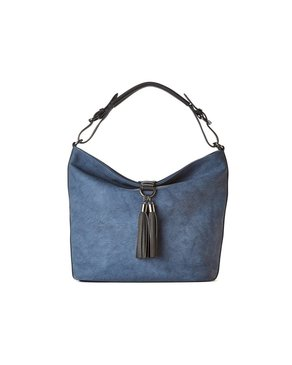 jeane & jax Tassel Hobo Bag (Twilight)