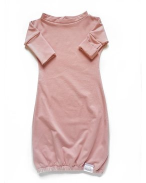 Kid's Stuff Newborn Gown | Pink