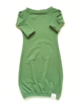 Kid's Stuff Newborn Gown | Green