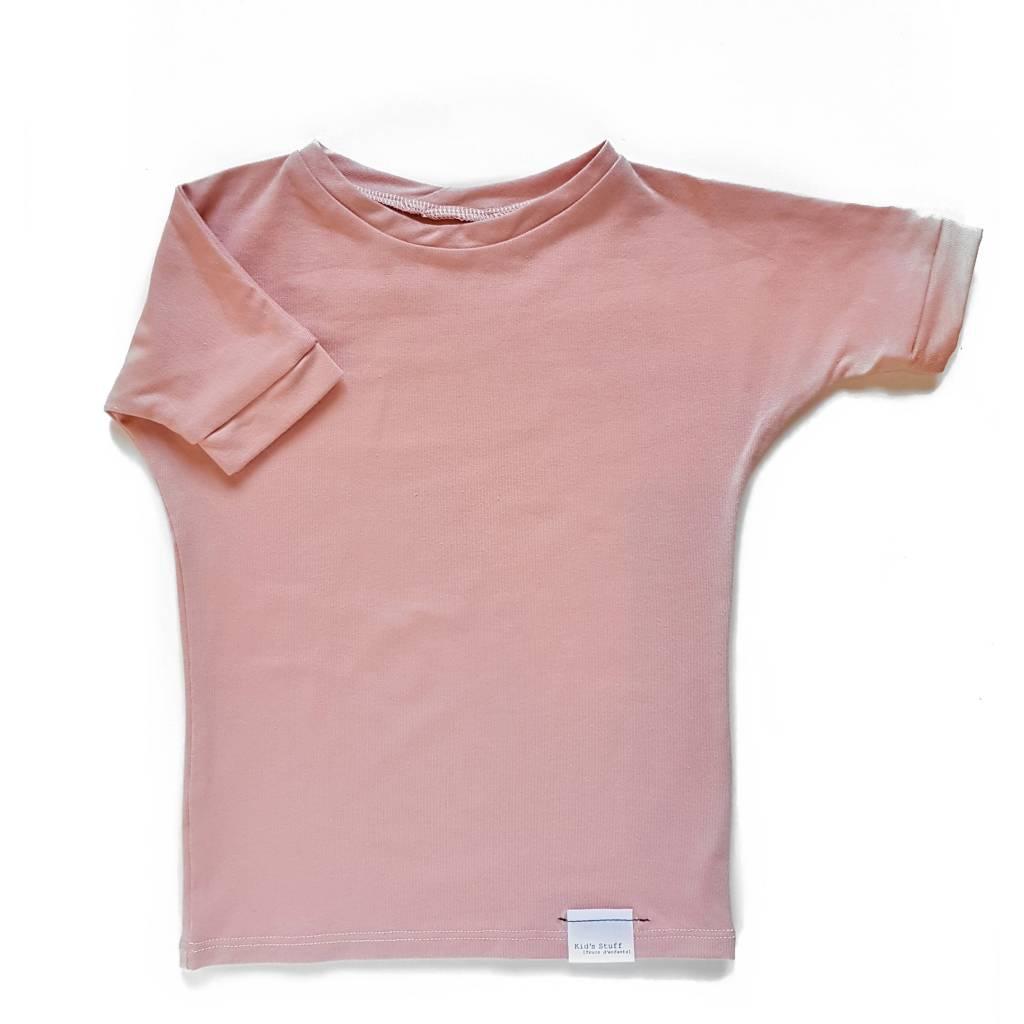 Kid's Stuff Grow With Me T-shirt | Pink