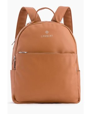 Design Lambert CHARLOTTE - Tan Fashion Backpacks for Women