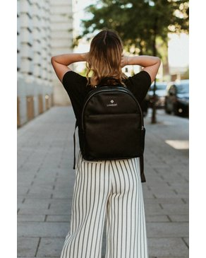 Design Lambert CHARLOTTE - Urban, Black Fashion Backpacks For Women