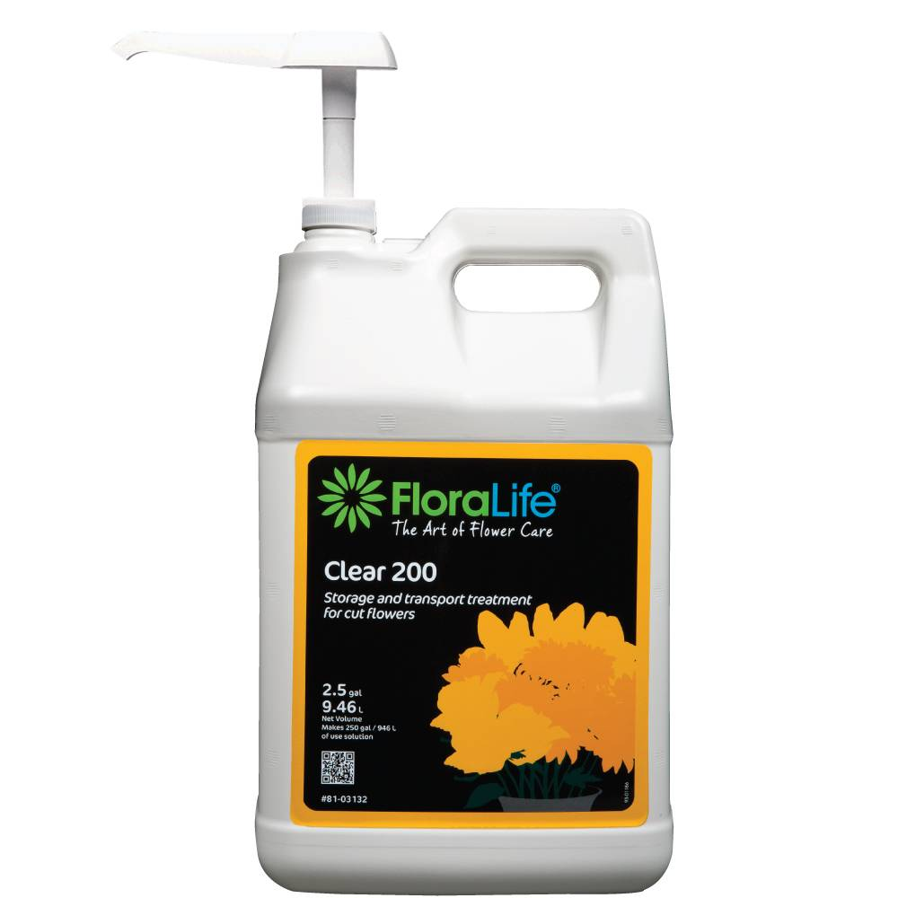 Floralife® Clear 200 storage and transport