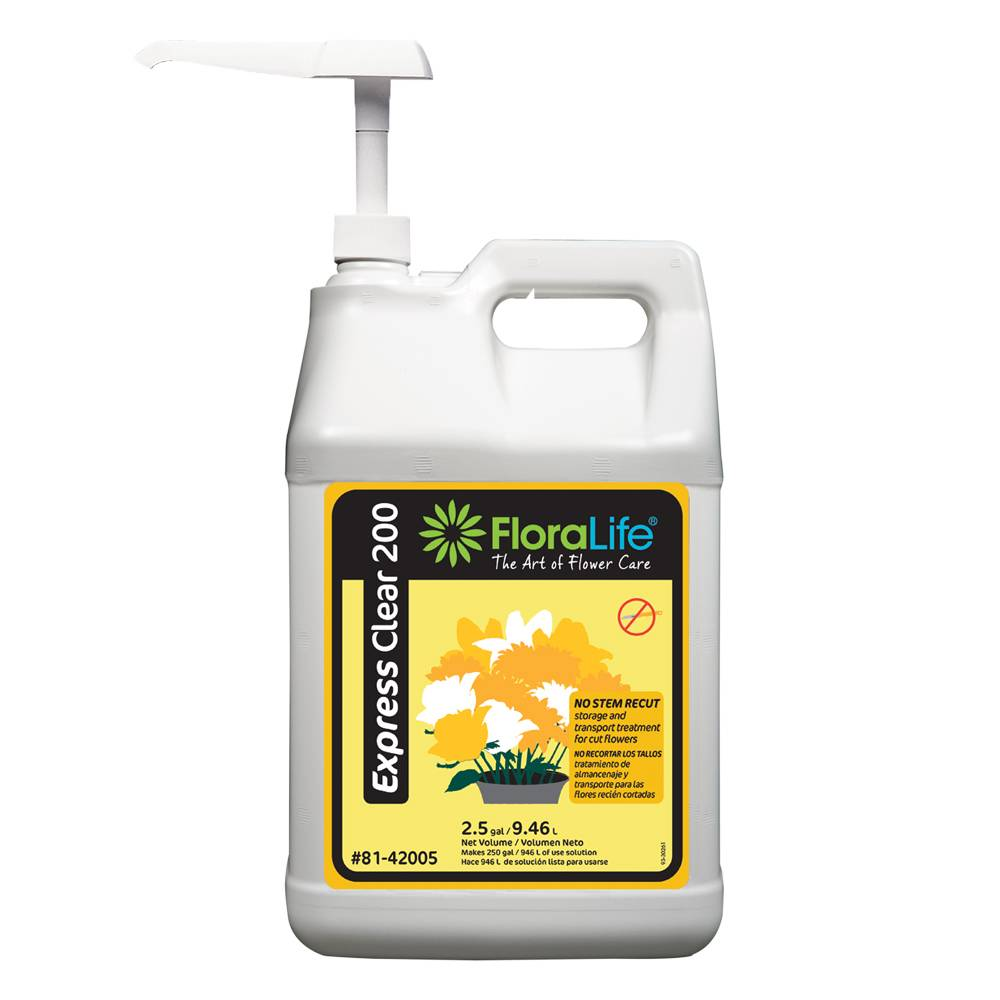 Floralife® Express Clear 200 storage and transport