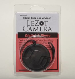 DLC 55mm Snap Cap with Leash