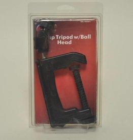 Camera Pod Clamp & Ball Head