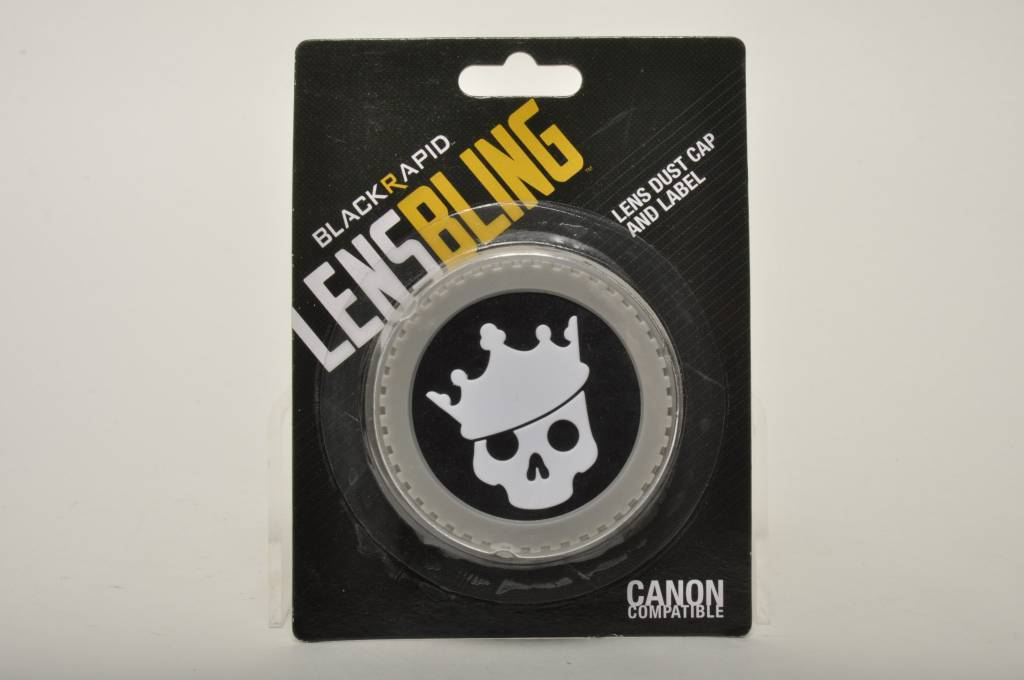 Canon Skull Crown Rear Lens Cap