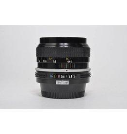 Nikon 50mm f/2 SN: 3220026