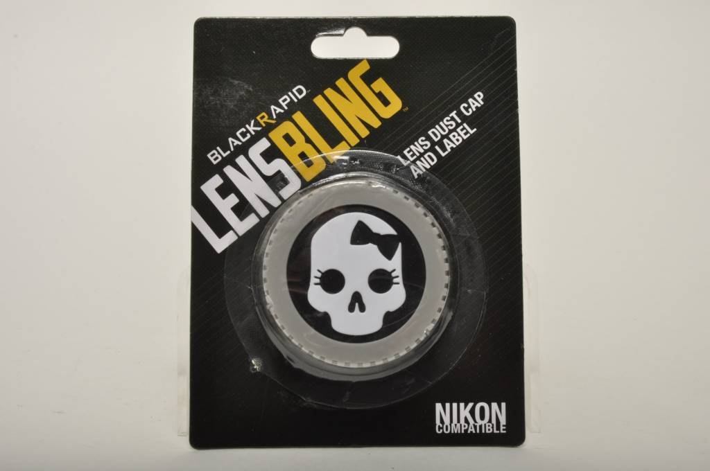 BlackRapid Nikon Skull Bow Rear Lens Cap