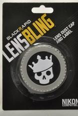 BlackRapid Nikon Skull Crown Rear Lens Cap