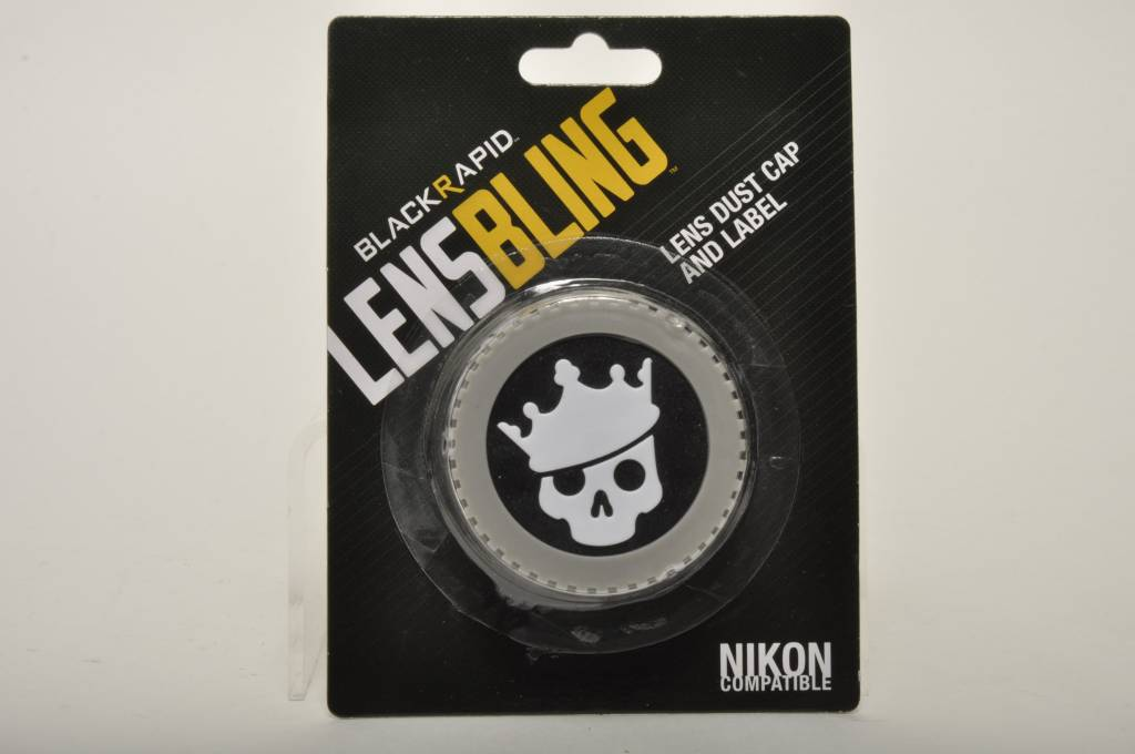 BlackRapid Nikon Skull Crown Rear Lens Cap
