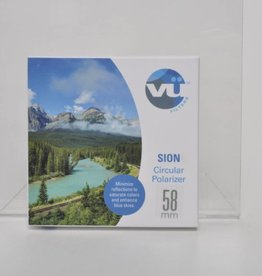 Vu Sion 58mm Slim CPL Filter