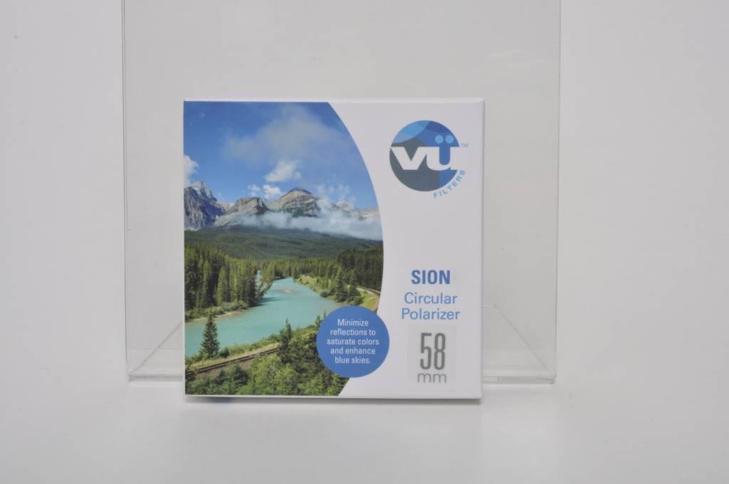 Vu Sion 58mm Slim CPL Filter