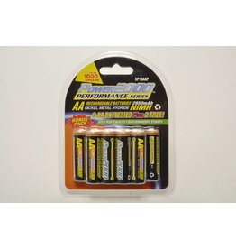 VidPro 10 Pack of AA 2950mAh Rechargable Batteries