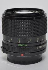 Canon Canon 85mm f/1.8 FD SN: 50429