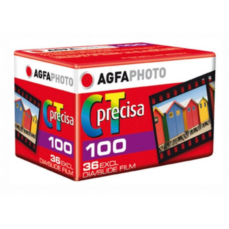 AGFA Agfa CT Precisa 100 ASA 36exp Slide FIlm