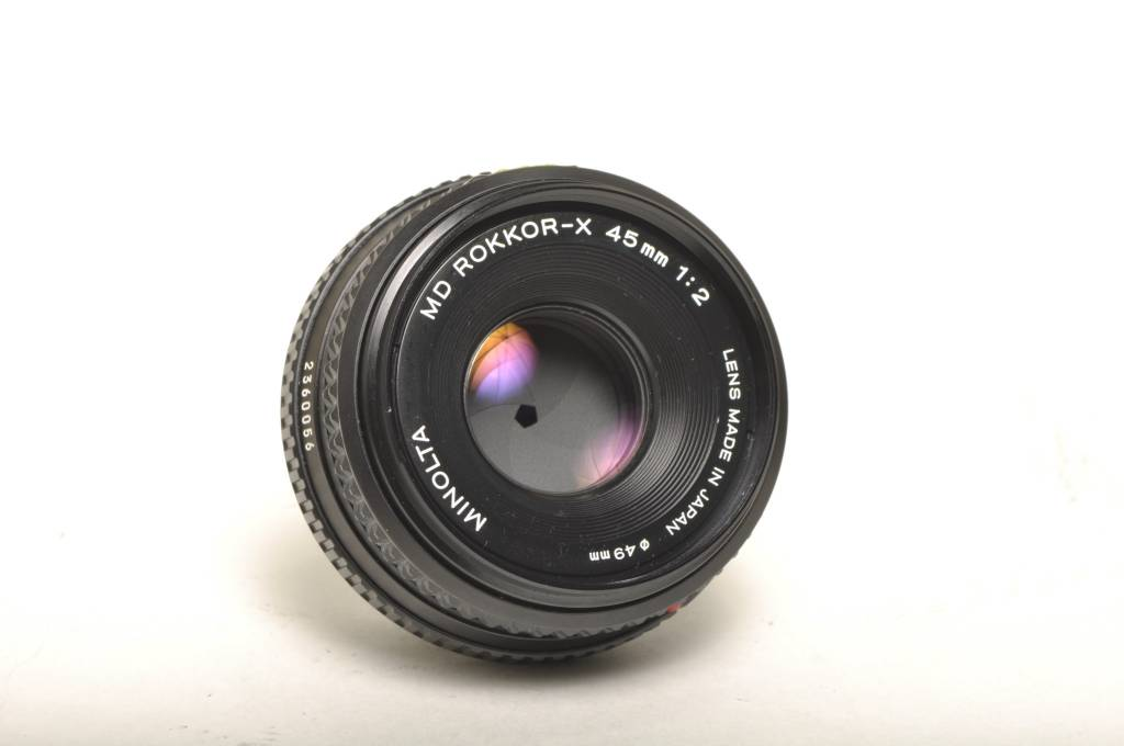 Minolta Minolta 45mm f/2 SN: 2360056