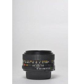 Minolta Minolta 50mm 1.8 SN: 9375084