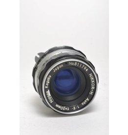 Nikon Nikon 50mm f/2 SN: 811794