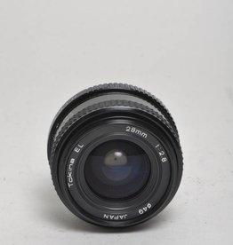 Tokina Tokina 28mm f/2.8 Sn: 6600814