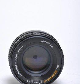 Minolta Minolta 50mm f/1.7 SN: 2485769