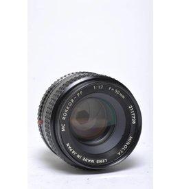 Minolta Minolta 50mm f/1.7 SN: 2117726