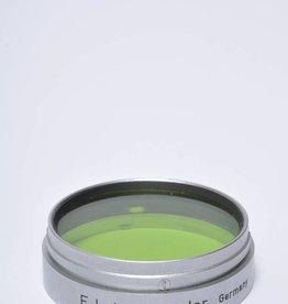 Leica Leitz Xoopt Gelb Leica Gr (Green) 39mm Lens Filter