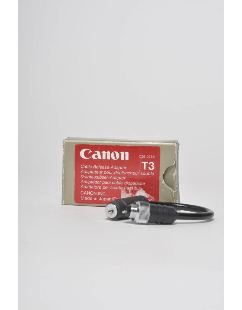 Canon Canon Cable Release Adapter T3