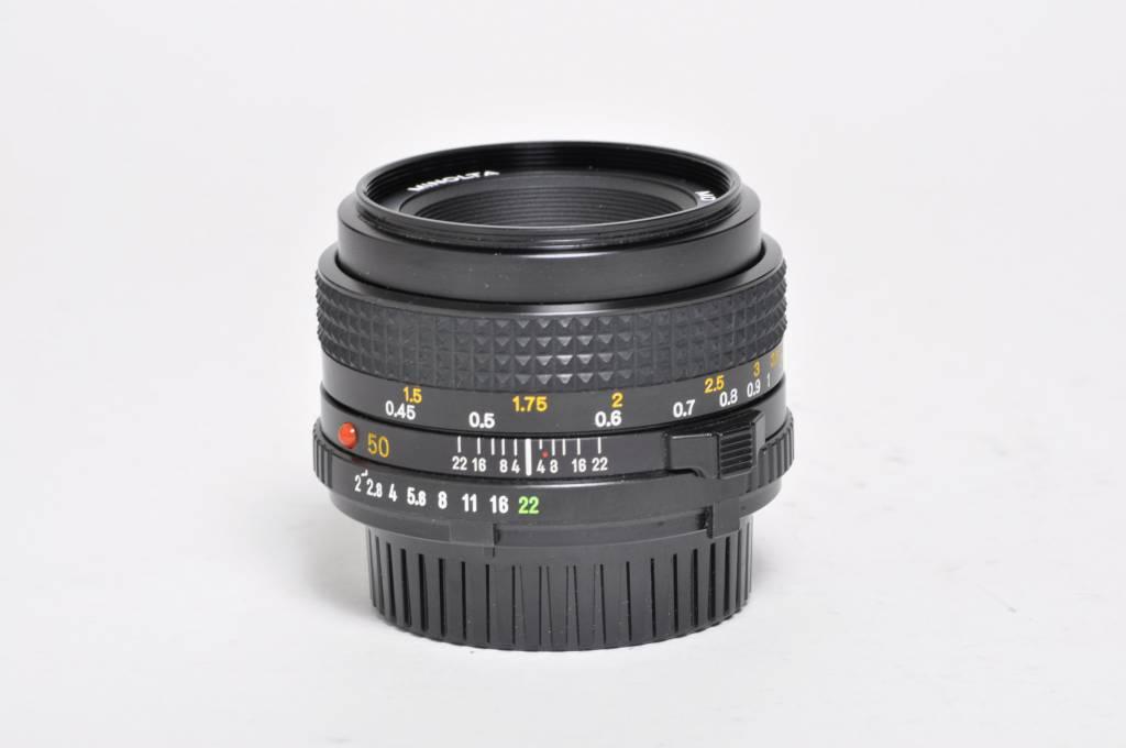 Minolta Minolta 50mm f/2 SN: 1694291
