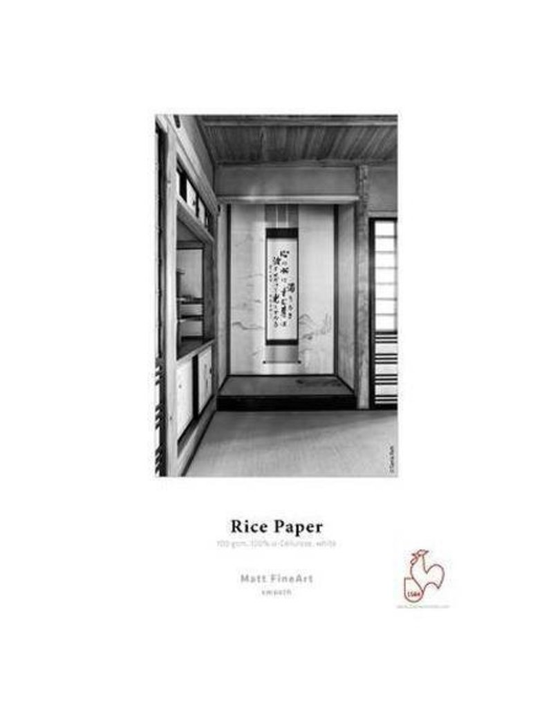 """Hahnemuhle Hahnemuhle : Picture 1 regular  Limited Quantity Available – Buy Now 25% Off Hahnemuhle Fine Art Matte Inkjet Rice Paper, 100 gsm, 13x19"""", 25 Sheets"""
