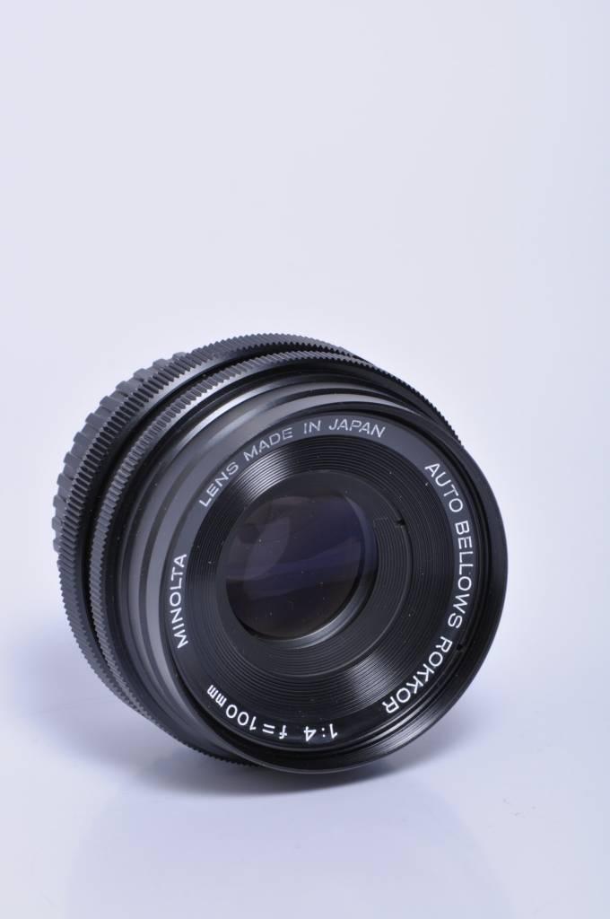 Minolta Minolta 100mm f/4 Bellows Lens SN: 1201286