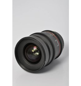 Rokinon Rokinon 24mm T/1.5 Cine SN: E213L4462