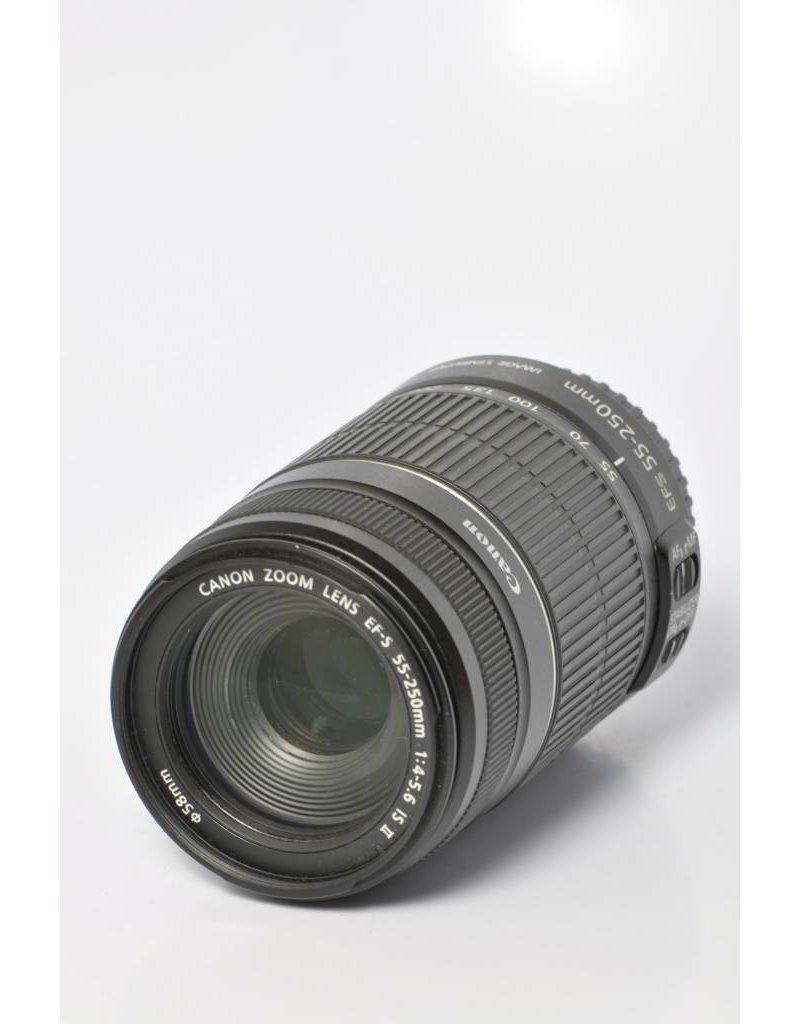 Canon Canon 55-250mm EFS F4-5.6 IS II Image Stabilized lens