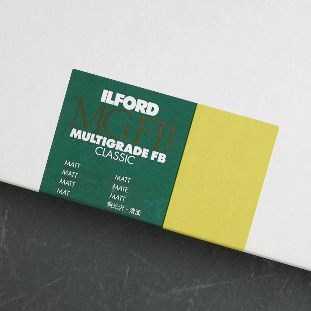 Ilford Ilford 8x10x25 FB Matt