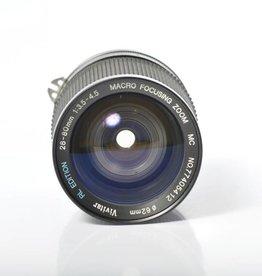 Vivitar Vivitar 28-80mm f3.5-4.5 MacroF mount