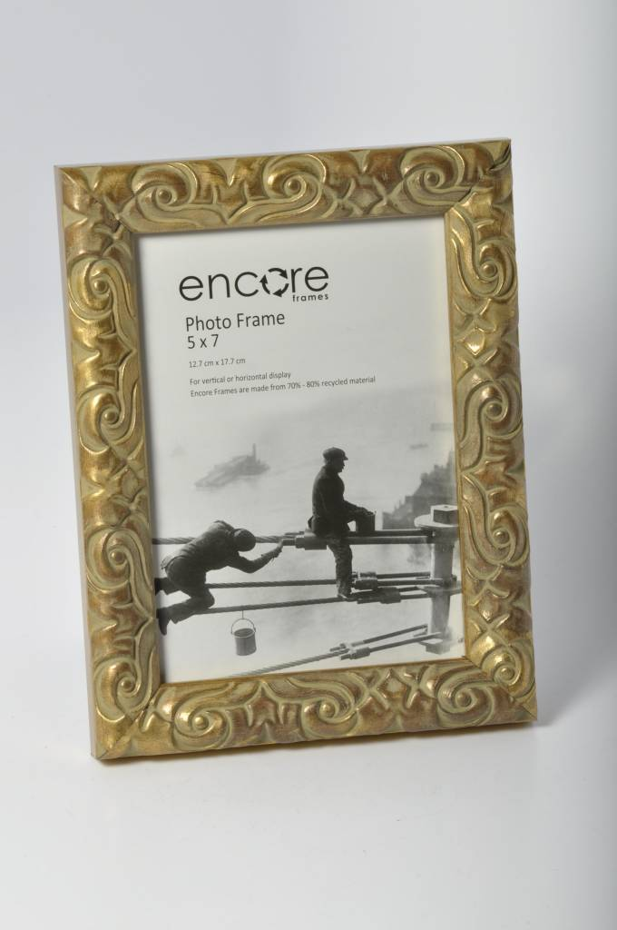 Larson Juhl Encore ANTIQUE GOLD ORNATE Frame for 5x7 - LeZot Camera ...