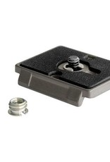 """Manfrotto Manfrotto 200PL Quick Release Plate with 1/4""""-20 Screw and 3/8"""" Bushing Adapter RC2"""