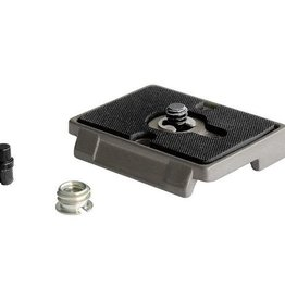 "Manfrotto Manfrotto 200PL Quick Release Plate with 1/4""-20 Screw and 3/8"" Bushing Adapter RC2"