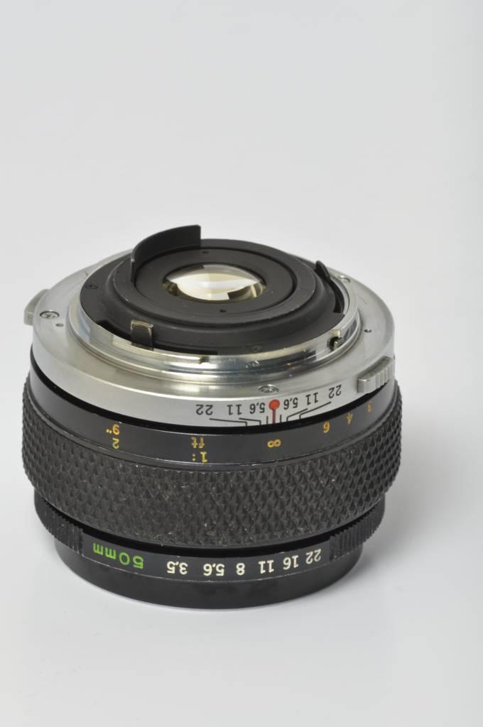 Olympus Olympus 50mm f/3.5 SN: 107331