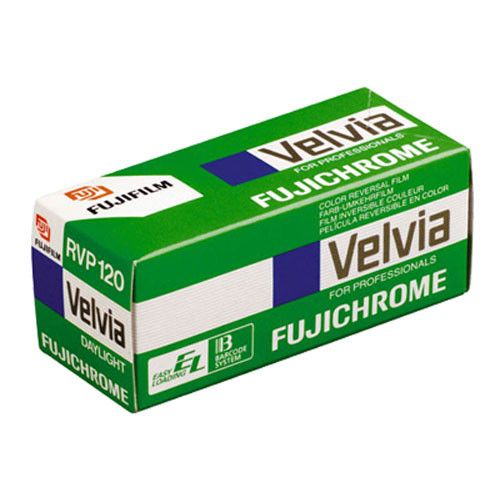 Fujifilm Fuji Velvia 50 ASA 120 Slide Film