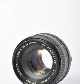 Minolta Minolta 50mm 1.7 SN: 2164243