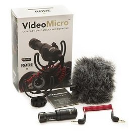 Rode Rode VideoMicro Compact On-Camera Microphone with Rycote Lyre Shock Mount