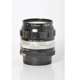 Nikon Nikon 35mm f/2 OC Sn: 848682