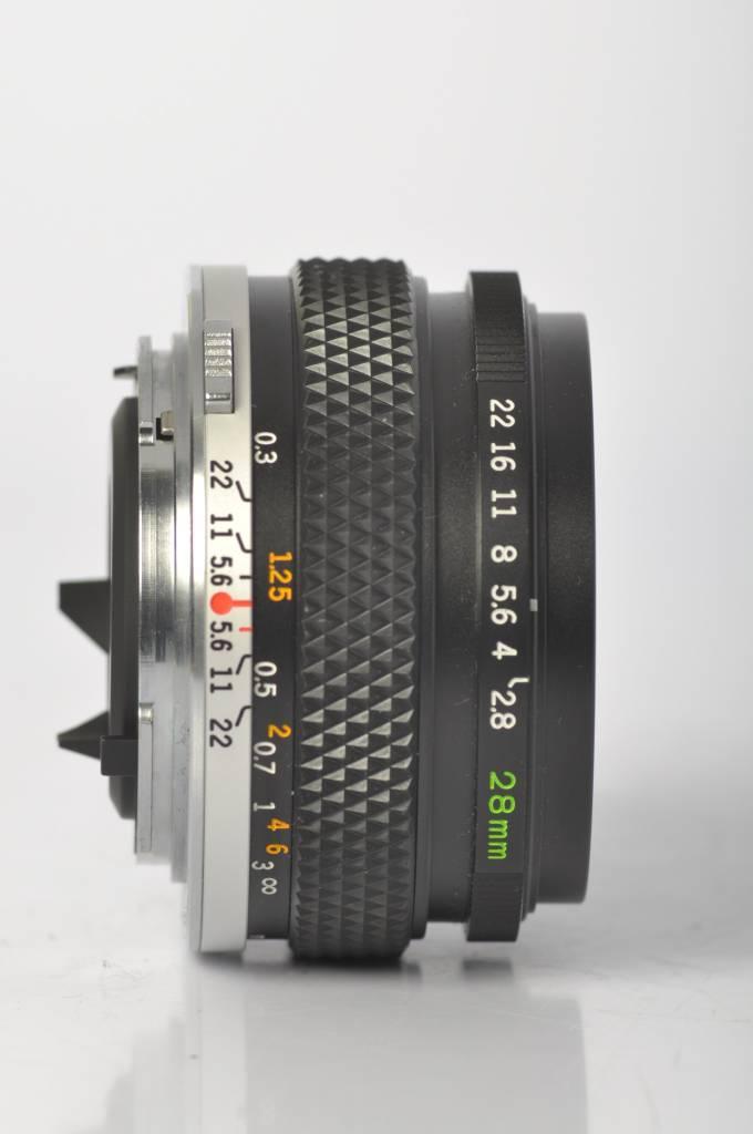 Olympus 28mm F/2.8 SN: 212591