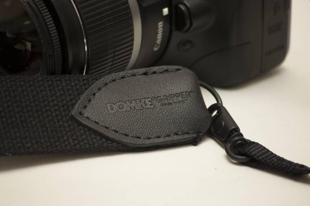 "Domke Domke Gripper 1.0"" Camera Strap 1 inch swivel Black"